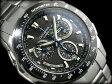 【ポイント2倍!!+全商品送料無料!!】【CASIO OCEANUS】オシアナス ソーラー電波クロノグラフ腕時計 ブラックダイアル チタンベルト サファイアカバーガラス 国内モデルOCW-M800TBJ-1AJF