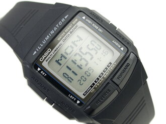 Casio databank overseas monopoly model unisex digital watch black x grey polyurethane belt DB-36-1AVDF