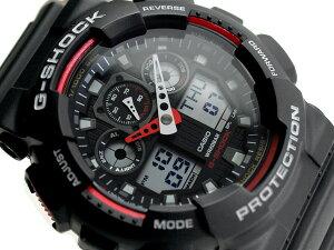 G-SHOCK Gショック ジーショック 逆輸入海外モデル カシオ デジタル 腕時計 GA-100-1A4DR GA-100-1A4【あす楽】