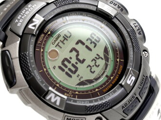 + Casio protrek tough solar overseas model digital outdoor watch Titan belt PRG-130T-7 V