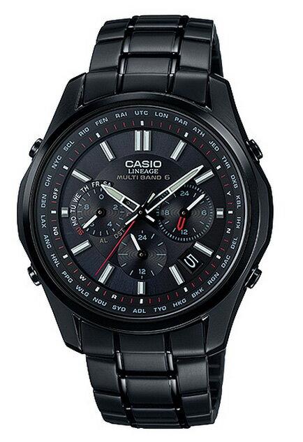 カシオ CASIO LINEAGE リニエージ アナログ ソーラー 電波 腕時計 ブラック LIW-M610DB-1AJF 国内正規品