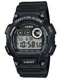 カシオ CASIO STANDARD SPORTS DIGITAL スタンダード カシオ スポーツ デジタル 腕時計 ブラック ブラック W-735H-1AJF 国内正規品