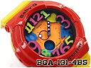CASIO BABY-G Crazy Neon Series クレイジーネオンシリーズ 逆輸入海外モデル カシオ ベビーG アナデジ 腕時計 レッド イエロー BGA-13..