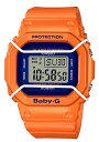 【ポイント2倍!!+全商品送料無料!!】ベビーG BABY-G ベビージー 限定モデル CASIO カシオ デジタル 腕時計 ブルー オレンジ BGD-501FS-4JF【国内正規モデル】