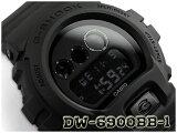【ポイント2倍!!+全商品送料無料!!】G-SHOCK Gショック ジーショック 逆輸入海外モデル CASIO デジタル 腕時計 マット オールブラック DW-6900BB-1DR DW-6900BB-1