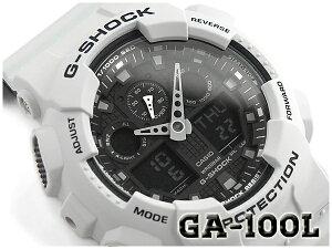G-SHOCK Gショック ジーショック 逆輸入海外モデル CASIO カシオ アナデジ 腕時計 アイスブルー ブラック GA-100L-7ACR GA-100L-7A【あす楽】