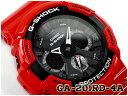 G-SHOCK Gショック カシオ CASIO アナデジ 腕時計 レッド ブラック GA-201RD-4ACR GA-201RD-4A