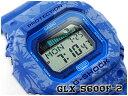 【ポイント2倍!!+全商品送料無料!!】G-SHOCK Gショック gshock カシオ CASIO デジタル 腕時計 Gライド G-LIDE ブルー 花柄 GLX-5600F-2ER GLX-5600F-2
