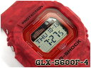 [5年間保証対象]G-SHOCK Gショック ジーショック 逆輸入海外モデル カシオ CASIO デジタル 腕時計 Gライド G-LIDE レッド 花柄 GLX-5600F-4ER GLX-5600F-4