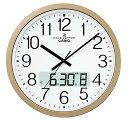 CASIO CLOCK カシオ クロック 壁掛け時計 電波 シャンパンゴールド IC-4100J-9JF 国内正規品