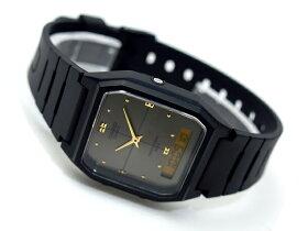 【CASIOANA-DIGI】カシオアナデジ腕時計ブラックダイアルAW-48HE-8AVDF【10P03dec10】
