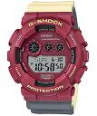 G-SHOCK Gショック ジーショック NO Comply ノーコンプライ MAROK マーロック カシオ CASIO ワールドタイム デジタル 腕時計 レッド ベージュ グレー GD-120NC-4JF【国内正規モデル】