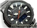 【ポイント2倍!!+送料無料!】プロトレック PROTREK MANASLU マナスル カシオ CASIO 逆輸入海外モデル 電波 ソーラー アナデジ 腕時計 ブラック シルバー PRX-8000T-7A