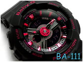 【ポイント2倍!!+全商品送料無料!!】BA-111-1ADR ベビーG BABY-G ベビージー カシオ CASIO 腕時計