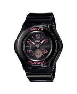 + Casio baby G watches Tripper Tripper radio solar an analog-digital black pink BGA-1030-1B2JF