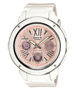 Baby G Baby-G Casio CASIO アナデジ watch pink white BGA-152-7B2JF fs3gm