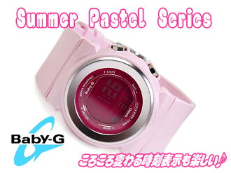 CASIO baby-g Summer Pastel Casio baby G summer pastels digital watch pink BGD-100-4DR BGD-100-4