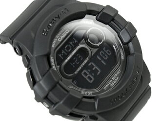 CASIO Casio baby-g baby G watches デュアルイルミネーター Matt Black BGD-140-1ADR