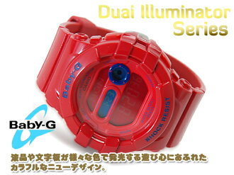 CASIO Casio baby-g baby G watch デュアルイルミネーター red BGD-140-4DR