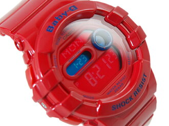 CASIO Casio baby-g baby G watch デュアルイルミネーター red BGD-140-4DR