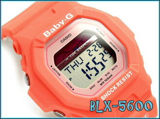 + Casio baby G overseas imports model G-LIDE G ride ladies digital watch pink BLX-5600-4DR