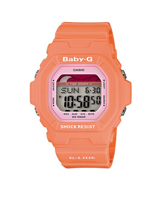 + Casio baby G watches baby g baby-g ベビージー G-LIDE G ride digital Orange BLX-5600-4JF