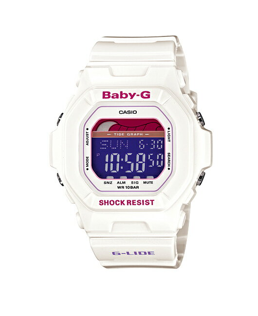 Casio baby G watch baby g baby-g ベビージー G-LIDE G ride digital white BLX-5600-7JF fs3gm