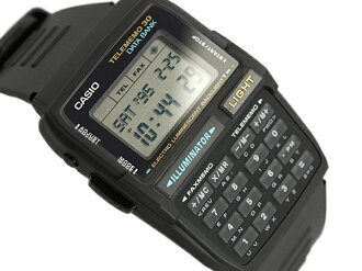 CASIO Casio DATABANK Casio databank calculator features digital watch imports overseas model black DBC-30-1