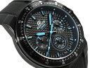 【ポイント2倍!!+送料無料!】CASIO EDIFICE カシオ 海外モデル エディフィス メンズ クロノグラフ 腕時計 ブラック ブルー EF-552PB-1A2VDF EF-552PB-1A2