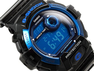 CASIO Casio g-shock G shock model standard digital watch blue black G-8900A-1DR