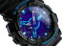 [all point double !+ product free shipping!]  G  G-SHOCK CASIO  watch blue purple black GA-110HC-1 GA-110HC-1ADR