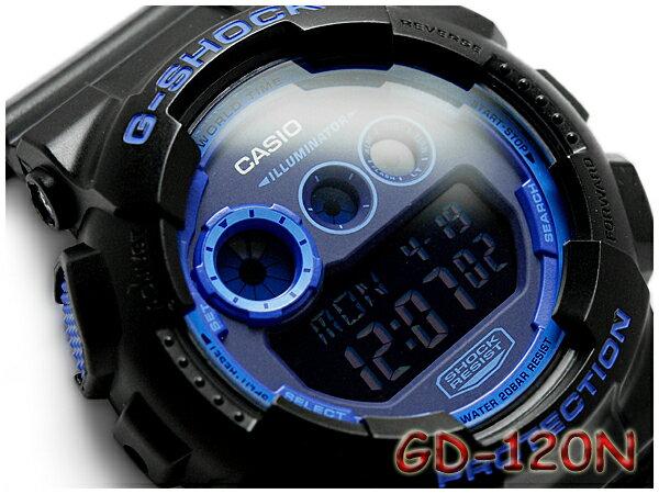 【ポイント2倍!!+送料無料!】GD-120N-1B2CR G-SHOCK Gショック ジーショック gshock カシオ CASIO 腕時計