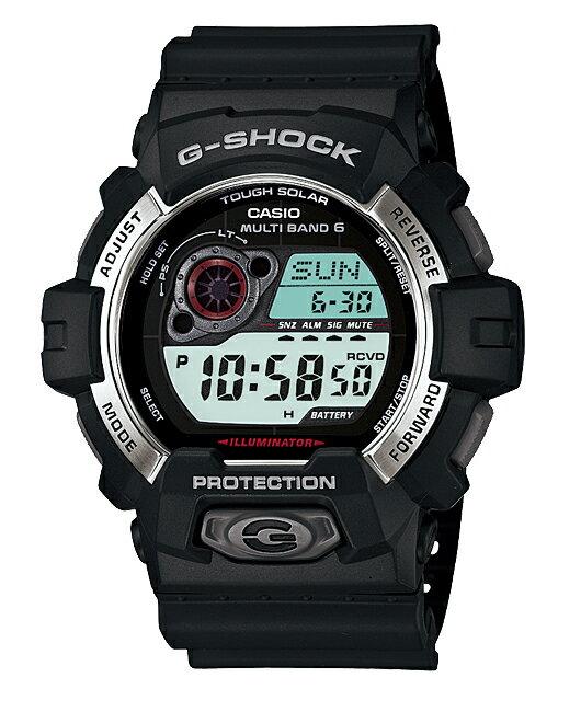 【送料無料+ポイント2倍!】GW-8900-1JF G-SHOCK Gショック ジーショック gshock カシオ CASIO 腕時計 [5年間保証対象]CASIO G-SHOCK カシオ Gショック 腕時計 電波ソーラー デジタル GW-8900-1JF