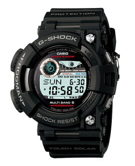 Casio G ショックジーショックフロッグマン electric wave solar digital watch black GWF-1000-1JF fs3gm
