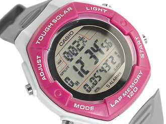 + CASIO Casio sport running for solar digital watch imports overseas model pink gray LWS-200H-4A LWS-200H-4