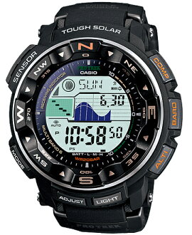 Proto Lec PRO TREK Casio electric wave solar digital watch black PRW-2500-1JF