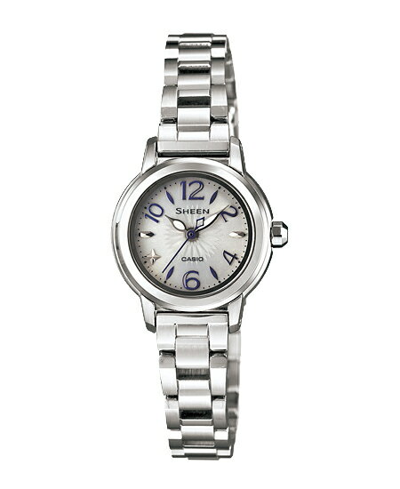 Casio scene Lady's watch solar silver SHE-4502SBD-7AJF fs3gm