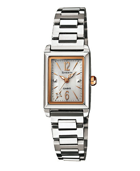 Casio scene ladies watch solar white silver SHE-4503SBD-7AJF