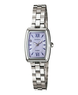 Casio scene Lady's watch solar purple silver SHE-4504SBD-6AJF