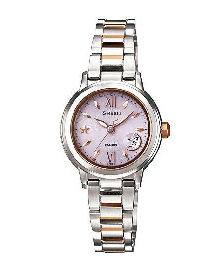 Casio scene Lady's watch electric wave solar pink silver SHW-1500SG-4AJF fs3gm