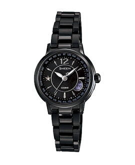 Casio scene Lady's watch electric wave solar oar black SHW-1501BD-1AJF fs3gm