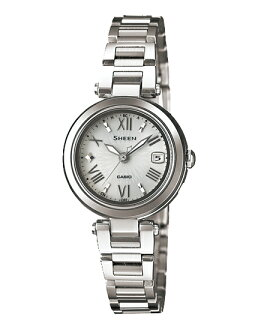 Casio scene Lady's watch electric wave solar silver SHW-1505D-7AJF fs3gm