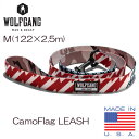 WOLFGANG MAN & BEAST (ウルフギャング) CamoFlag LEASH Mサイズ 10P03Dec16