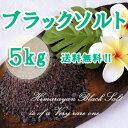 【送料無料】ヒマラヤ岩塩バスソルト ブラックソルト 小粒タイプ お徳用5kg(1kg×5袋)