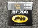 【期間限定値下げセール】【未使用】 ティーディーケー TDK 【未使用・未開封】 2DD フロッピーディスク 1枚パック MF-2DD-SEB
