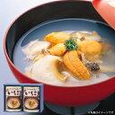 ウニとアワビの潮汁『味の加久の屋元祖いちご煮415g×2