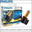 【期間限定セール】PHILIPS (フィリップス)エクストリームアルティノンLEDフォグユニバーサルH8/H11/H16 イエロー2700K