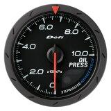 Defi-Link(デフィリンク)アドバンスメーターCR OIL PRESS 油圧計 60パイ黒