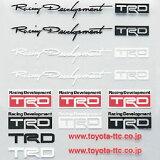 迷你的TRD贴纸集[TRD ミニ ステッカーセット 【toyota】 【トヨタ】]