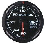 【】Defi(デフィ)レーサーゲージ 52φ ホワイトモデルTEMP. 温度計